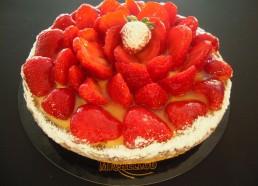 Tarte aux fraises petite
